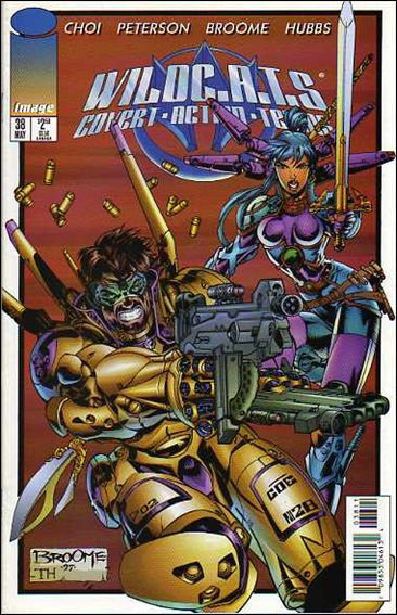 WildC.A.T.s: Covert Action Teams 38-A by Image