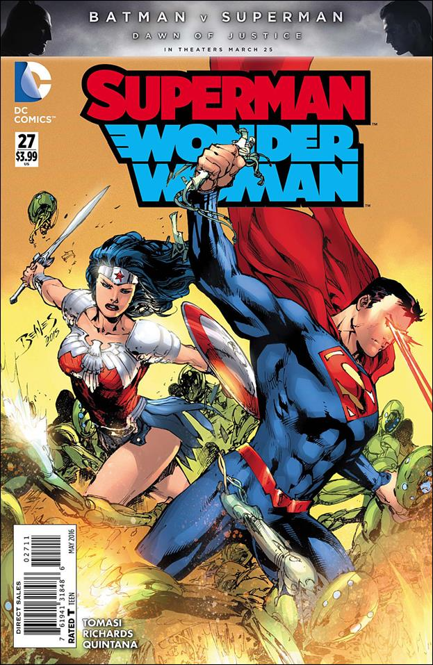 Superman/Wonder Woman 27-A by DC