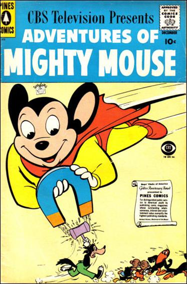 Adventures of Mighty Mouse (1956) nn 8-A by Pines