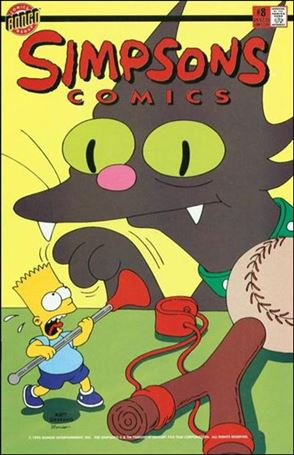 Simpsons Comics 8-A