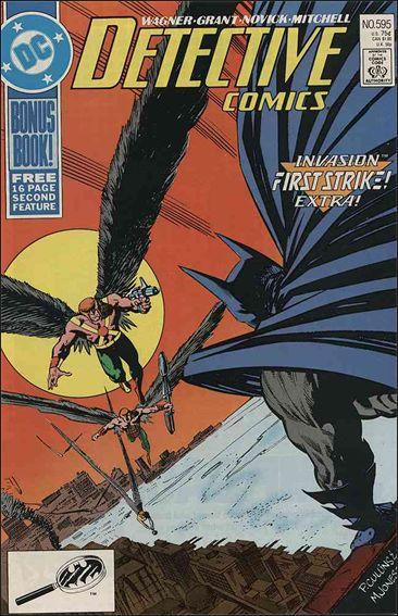 Detective Comics (1937) 595-A by DC