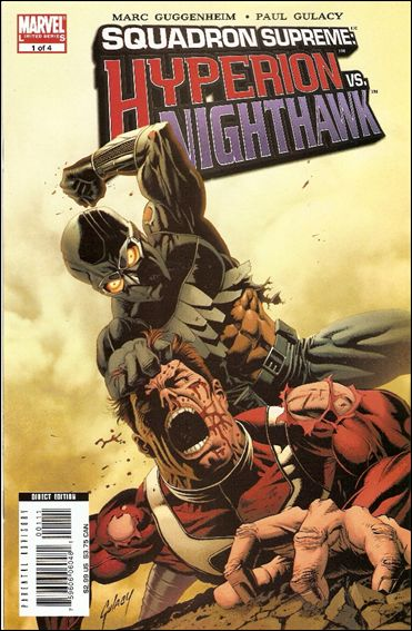 Squadron Supreme: Hyperion vs Nighthawk 1-A by Marvel
