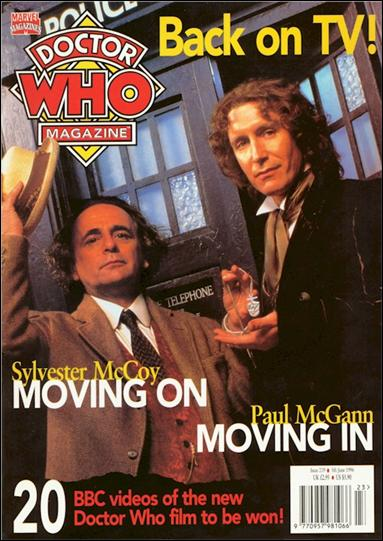 Doctor Who Magazine 239-A by Marvel UK