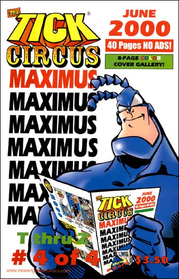 Tick Circus Maximus 4-A by New England Comics Press (NEC / NECP)