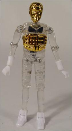 Micronauts (Series 1) Time Traveler (Gold) by Palisades Toys