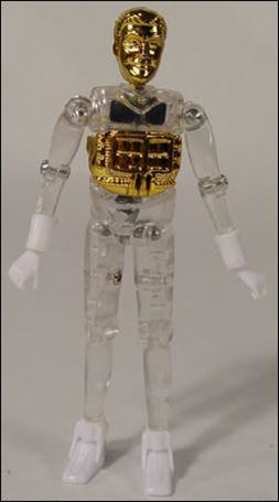 Micronauts (Series 1) Time Traveler (Gold)