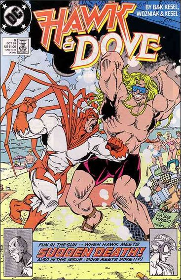 Hawk and Dove (1989) 5-A by DC