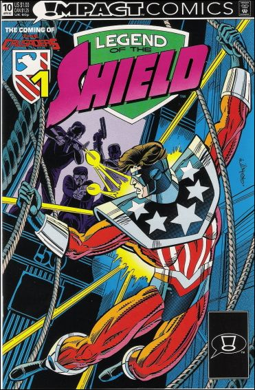 Legend of the Shield 10-A by Impact Comics