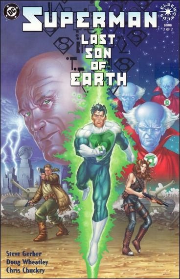 Superman: Last Son of Earth 2-A by DC