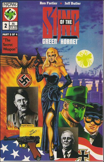 Sting of the Green Hornet 2-C by Now Comics