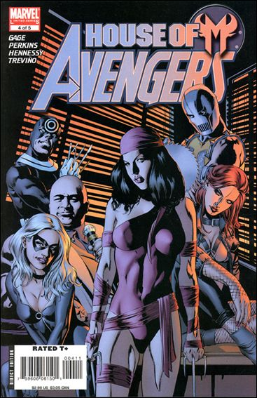 House of M: Avengers 4-A by Marvel