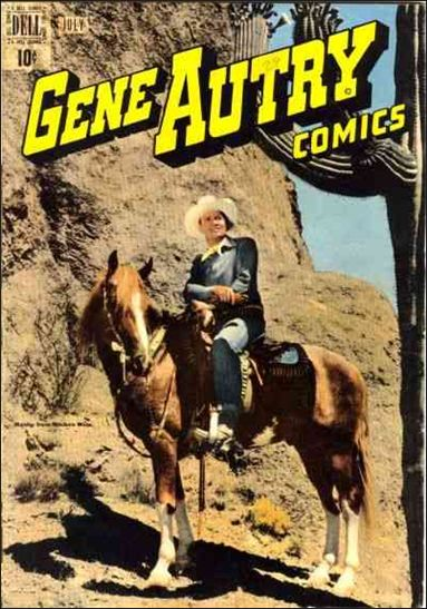 Gene Autry Comics (1946) 29-A by Dell