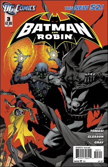 Batman and Robin (2011) 3-A by DC