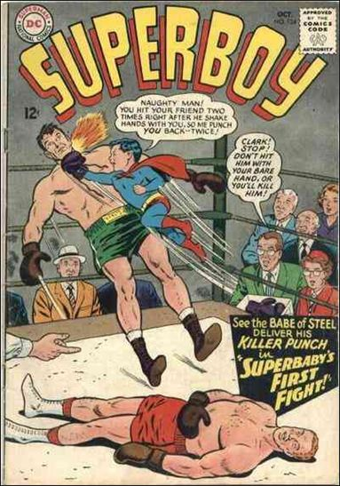 Superboy (1949) 124-A by DC