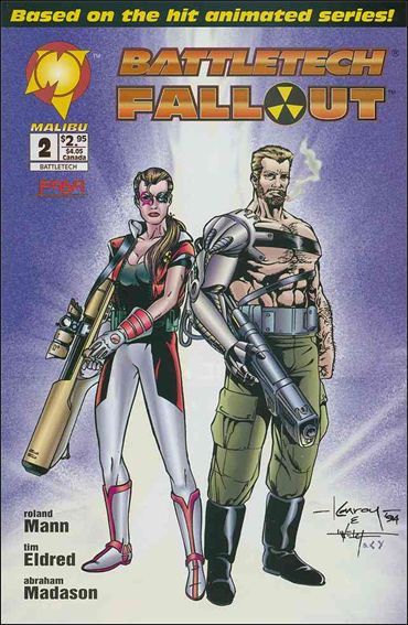 BattleTech: Fallout 2-A by Malibu