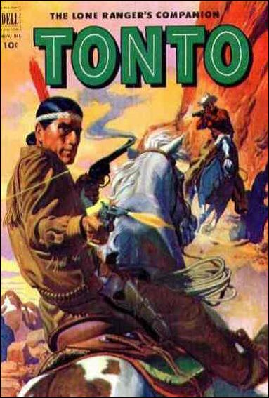 Lone Ranger's Companion Tonto 8-A by Dell