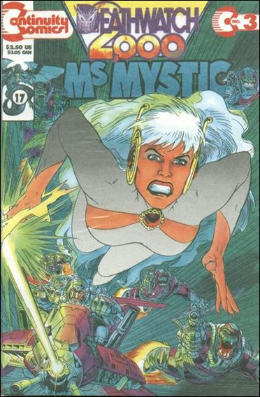 Ms. Mystic Deathwatch 2000 3-A by Continuity Comics