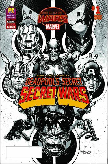 Deadpool's Secret Secret Wars 1-G by Marvel