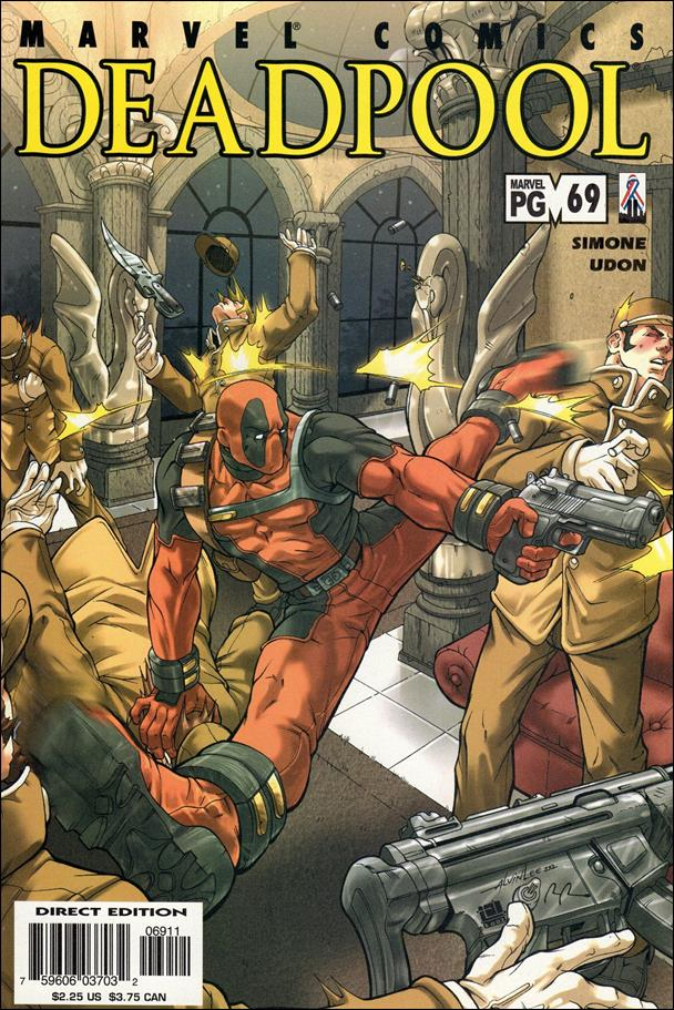 Deadpool (1997) 69-A by Marvel