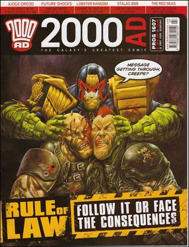 2000 A.D. (UK) 1607-A by Rebellion