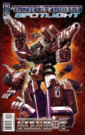 Transformers Spotlight nn4-B by IDW