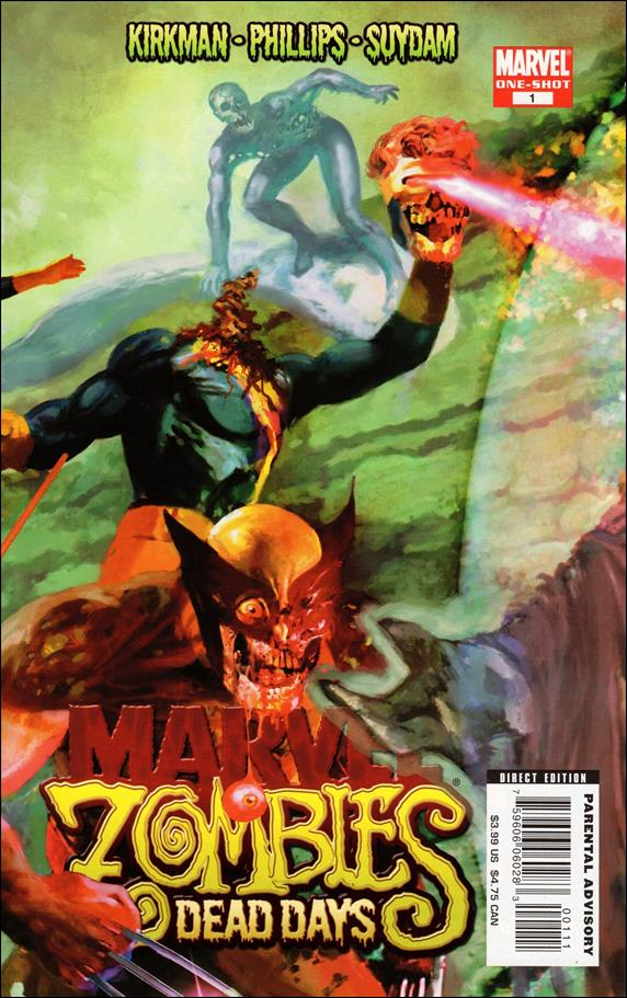 Marvel Zombies: Dead Days 1-A by Marvel
