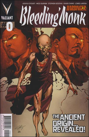 Harbinger: Bleeding Monk 0-A by Valiant Entertainment