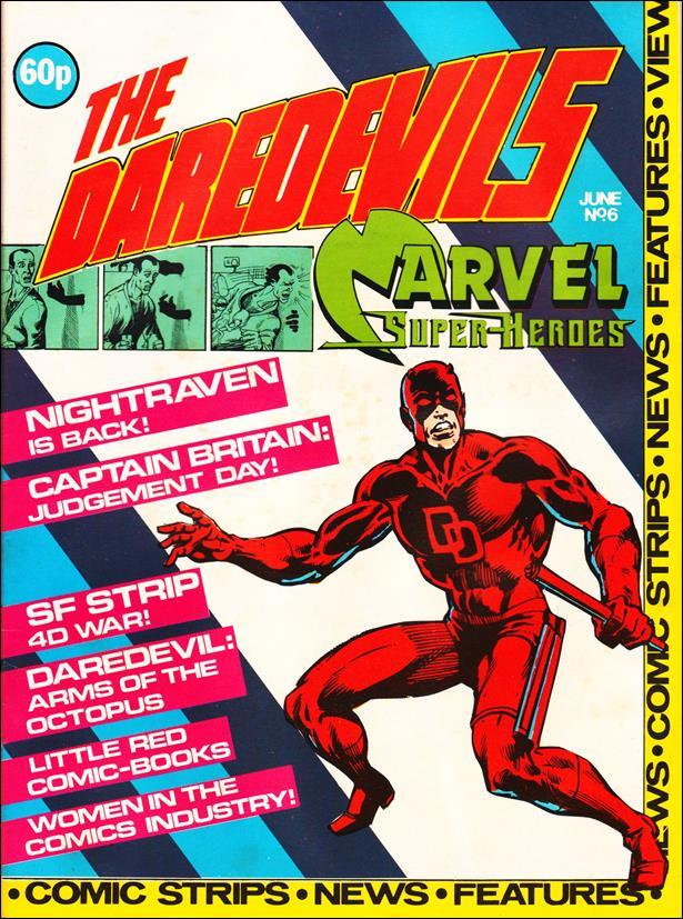 Daredevils (UK) 6-A by Marvel UK