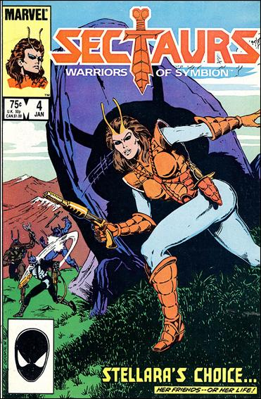 Sectaurs (1985) 4-A by Marvel
