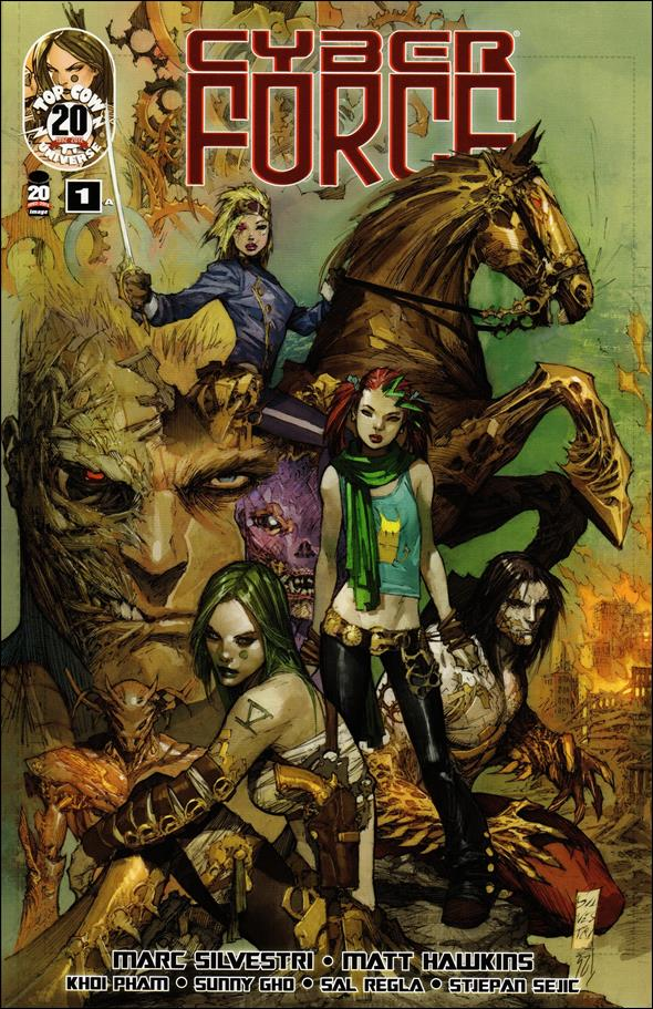 Cyberforce (2012) 1-A by Top Cow