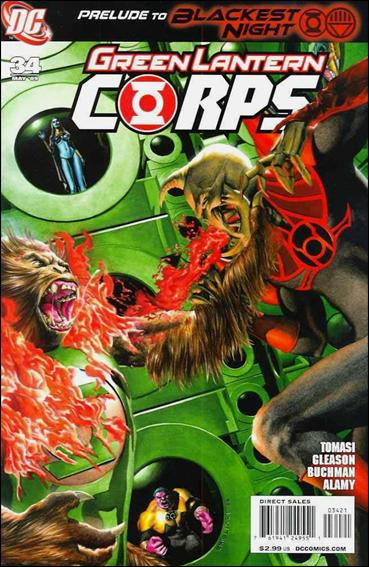 Green Lantern Corps (2006) 34-B by DC