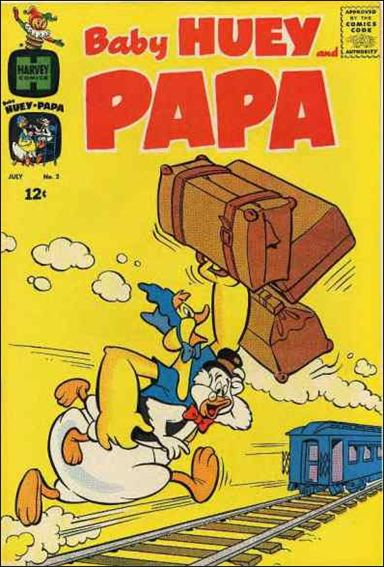 Baby Huey and Papa 2-A by Harvey