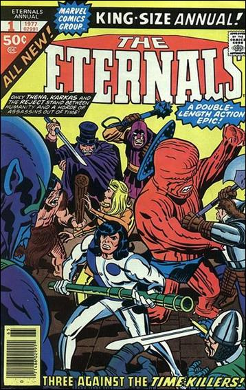 Eternals Annual (1976) 1-A by Marvel