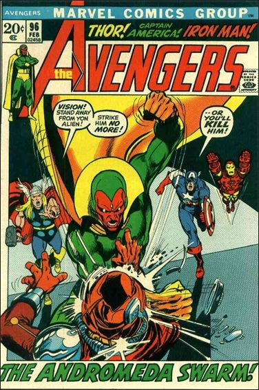 Avengers (1963) 96-A by Marvel