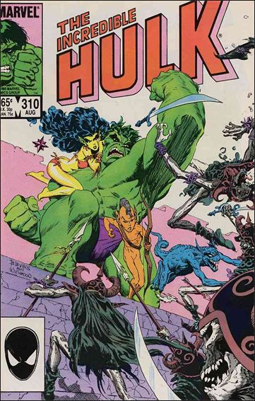 Incredible Hulk (1968) 310-A by Marvel
