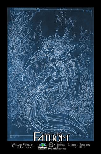 Michael Turner's Fathom (2005) 1-E by Aspen