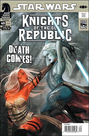 Star Wars: Knights of the Old Republic 49-A by Dark Horse