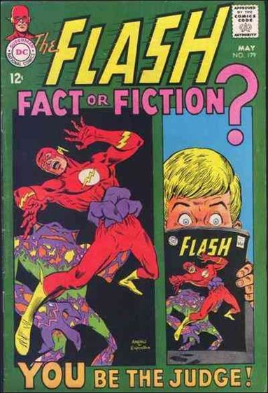 Flash (1959) 179-A by DC