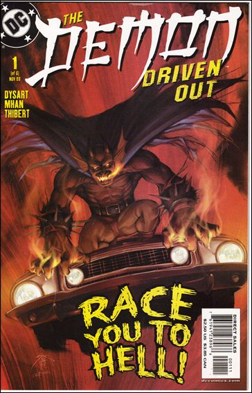 Demon: Driven Out 1-A by DC