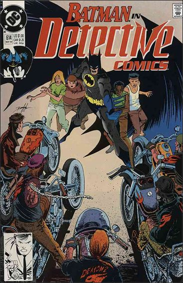Detective Comics (1937) 614-A by DC