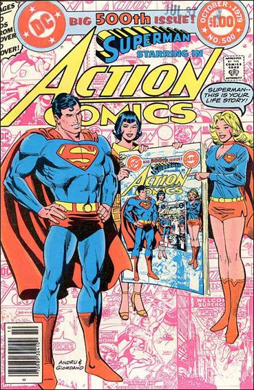 Action Comics (1938) 500-A by DC