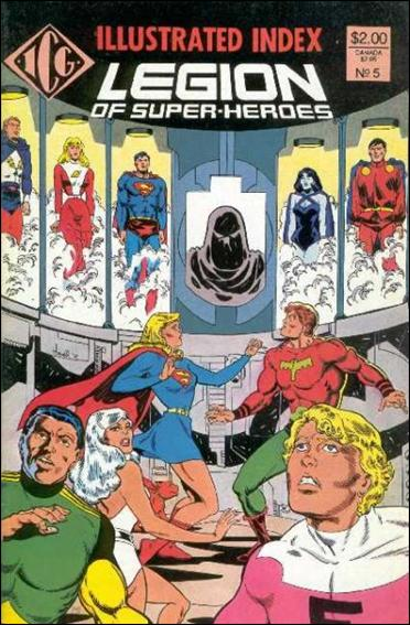 Official Legion of Super-Heroes Index 5-A by ICG