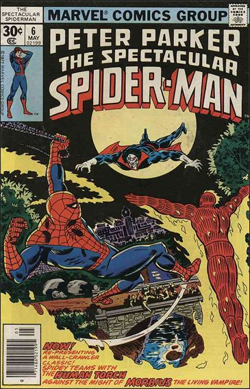 Spectacular Spider-Man (1976) 6-A by Marvel