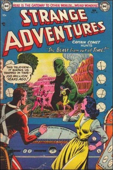 Strange Adventures (1950) 41-A by DC
