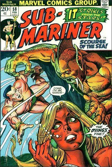 Sub-Mariner (1968) 58-A by Marvel
