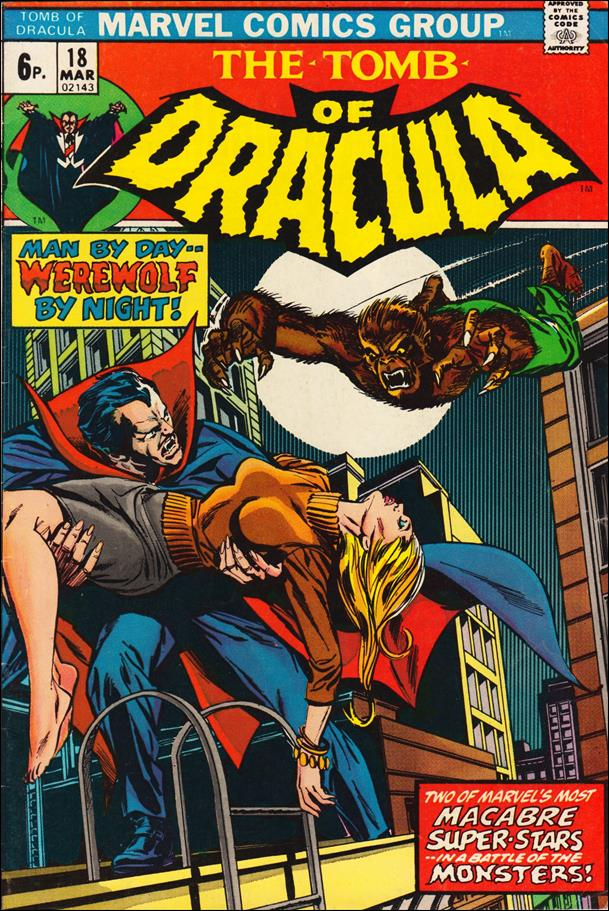 Tomb of Dracula (1972) 18-B by Marvel