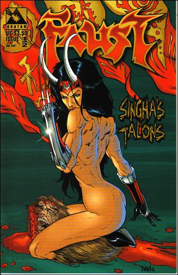 Faust: Singha's Talons  1/2-C by Avatar Press