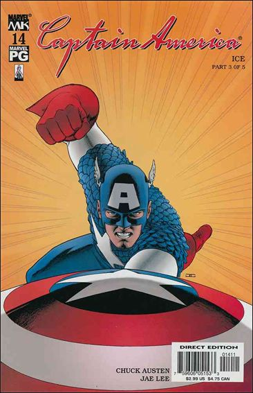 Captain America (2002) 14-A by Marvel