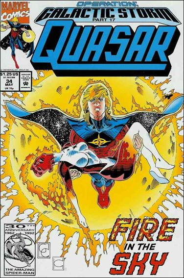 Quasar 34-A by Marvel