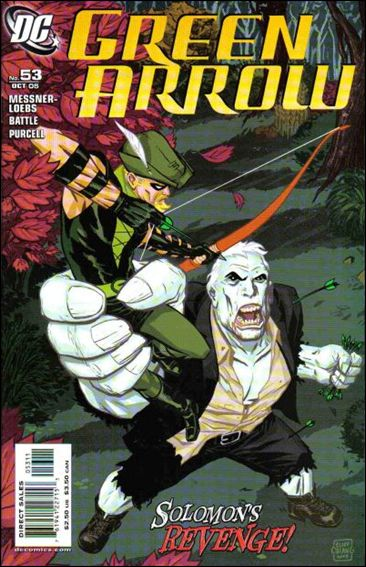Green Arrow (2001) 53-A by DC
